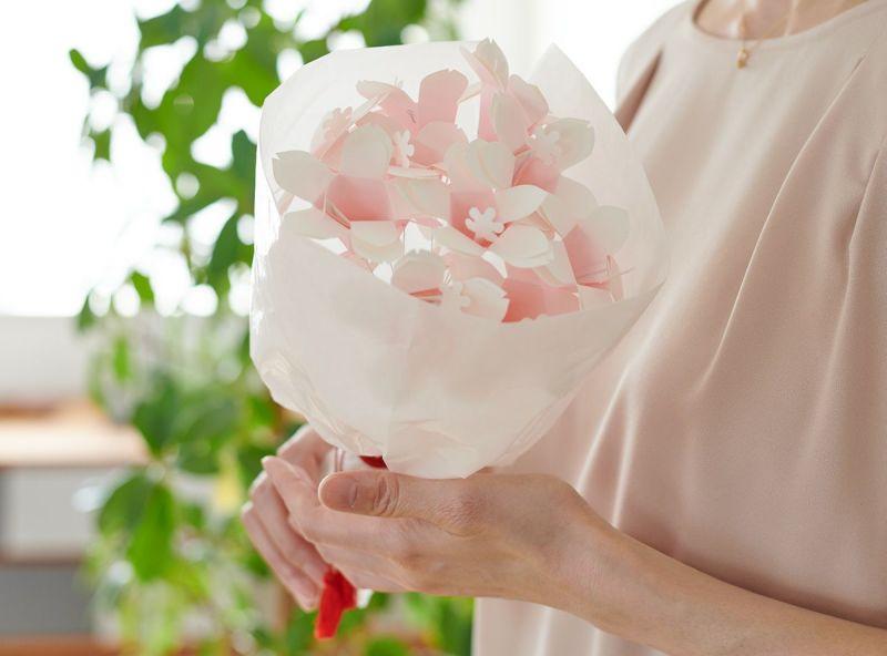 リプラグク送別会プレゼントにおすすめランキング3位 Hana-kotoba Kit【プチブーケ】和