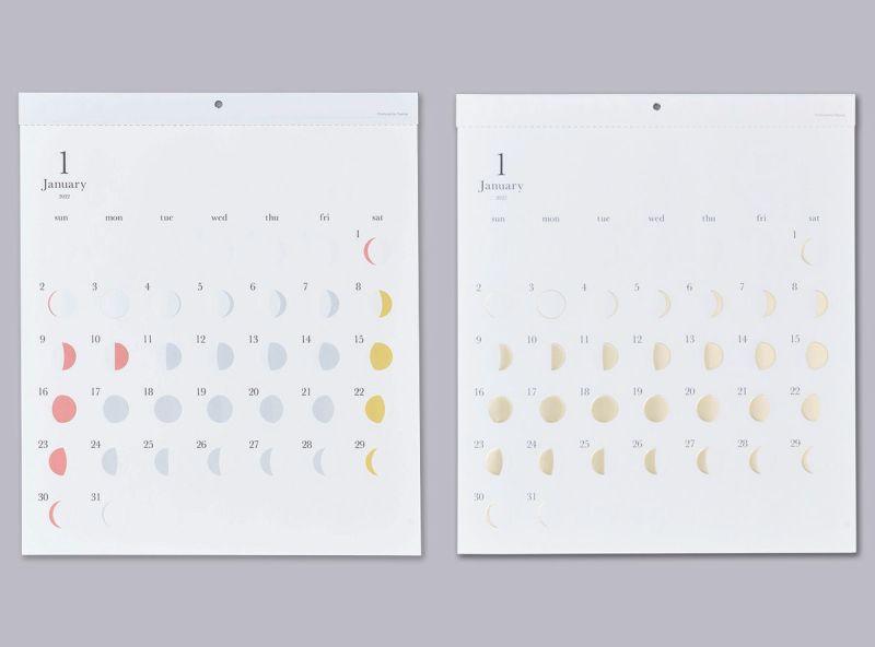 月の満ち欠けカレンダー ミチル・ミチルKiraセット<送料無料>