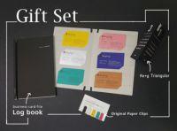 ギフトセット/Log bookとRe+g Triangular(名刺ファイルと卓上カレンダー)